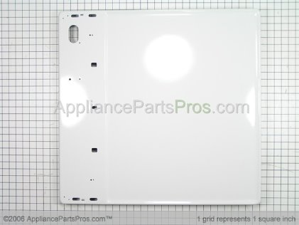 Whirlpool Pannel, Top (wht) 37001027 from AppliancePartsPros.com