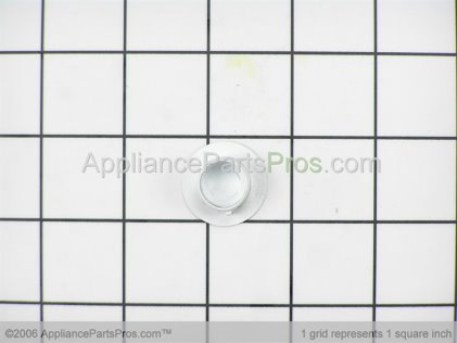 Whirlpool Plug, Hinge Cup (wht) 61001908 from AppliancePartsPros.com