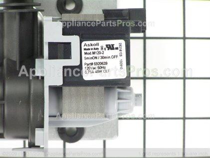 Whirlpool Pump-Drain W10128557 from AppliancePartsPros.com