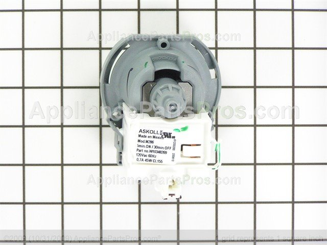 whirlpool pump drain wpw10348269 ap6020066_04_l whirlpool wpw10348269 drain pump appliancepartspros com Askoll Bosch Pumps at n-0.co