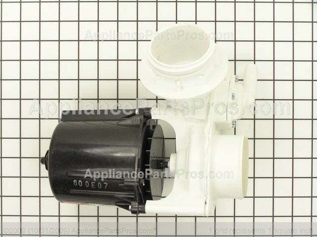 Whirlpool wpw10247394 pump and motor assembly for Whirlpool washer motor price