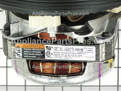 Whirlpool PUMP&MOTOR W10428780 from AppliancePartsPros.com