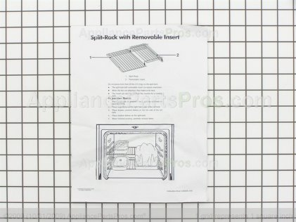 Whirlpool Rack-Oven 4396927 from AppliancePartsPros.com