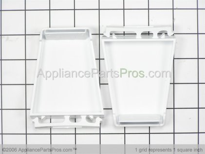 Whirlpool Refrigerator Door Shelf Endcap Kit 4388286 from AppliancePartsPros.com