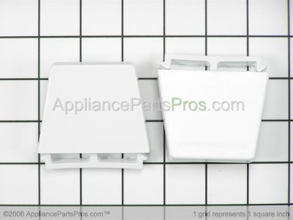 Whirlpool Refrigerator/freezer Shelf Bar End Cap Kit, 2 Pack 4386917 from AppliancePartsPros.com