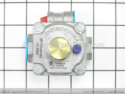 Whirlpool Regulator, Pressure 74005551 from AppliancePartsPros.com