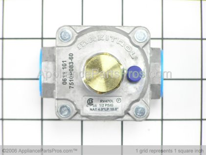 Whirlpool Regulator, Pressure 74006282 from AppliancePartsPros.com
