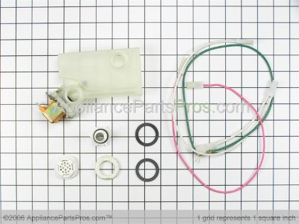 Whirlpool Rinse Dispenser Kit Net 901572 from AppliancePartsPros.com