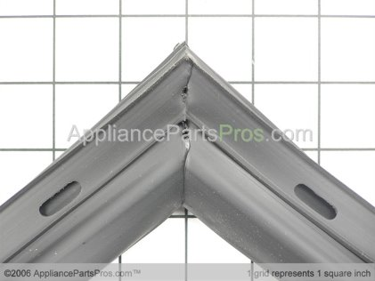 Whirlpool Seal, F.f. Door (blk) 61004013 from AppliancePartsPros.com