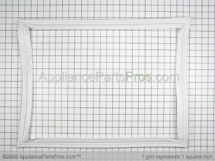 Whirlpool Seal, Frz. Door (wht) 61004006 from AppliancePartsPros.com