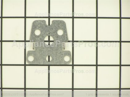 Whirlpool Shim, Top Hinge 12695601 from AppliancePartsPros.com