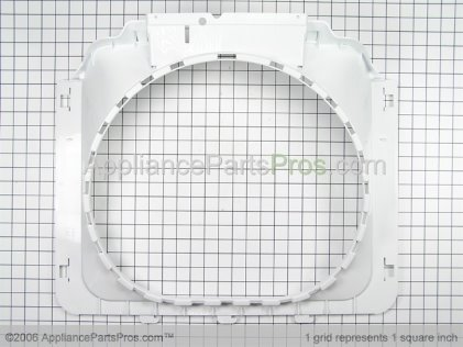 Whirlpool Shroud, Plastic White 22002234 from AppliancePartsPros.com