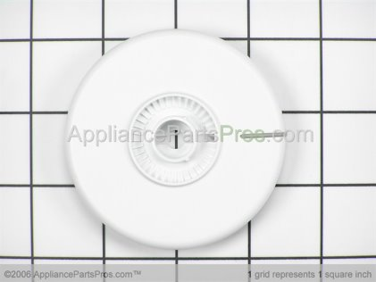 Whirlpool Skirt Dial(white) 22001265 from AppliancePartsPros.com