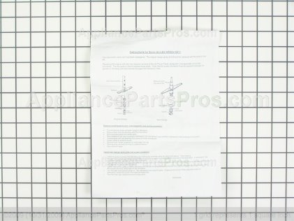Whirlpool Spray Arm & Shield Y03000107 from AppliancePartsPros.com