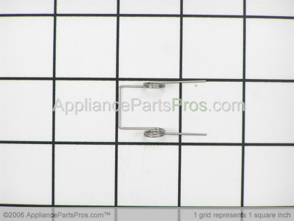 Whirlpool Spring, Return B8385402 from AppliancePartsPros.com