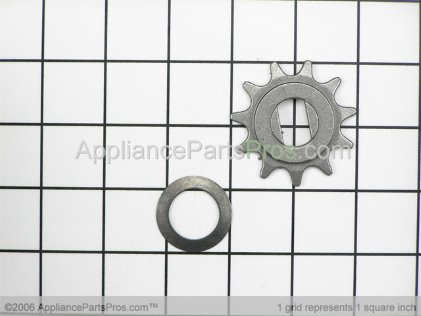 Whirlpool Sprocket 675370 from AppliancePartsPros.com