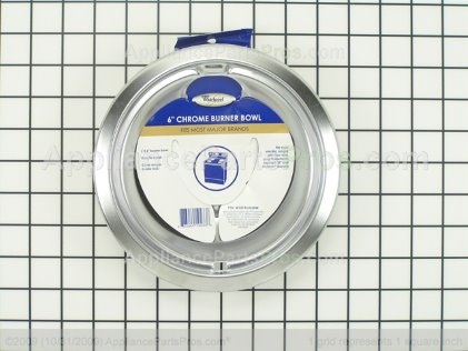 Whirlpool Stove Top Drip Pan W10196406RW from AppliancePartsPros.com