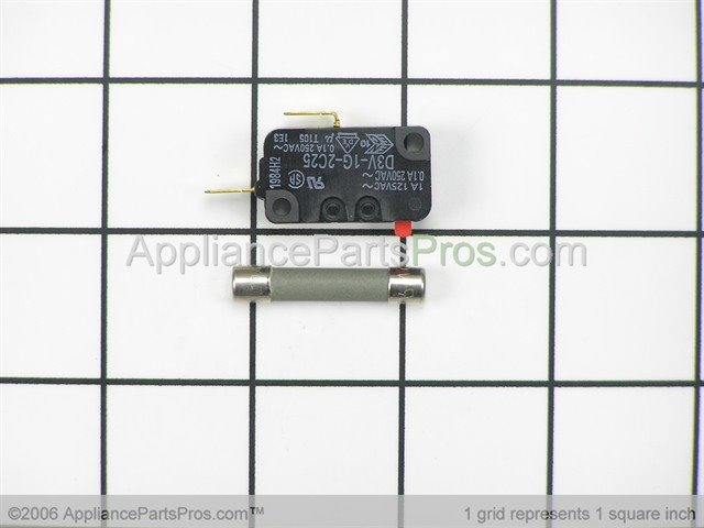 Whirlpool 4313105 Switch Amp Fuse Assembly