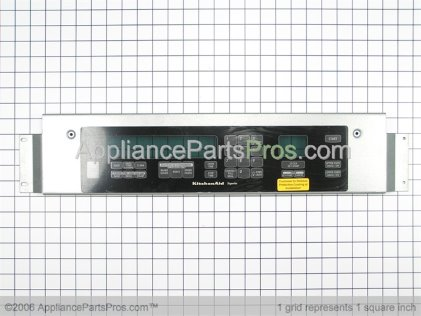 Whirlpool Switch, Membrane (black) 8302756 from AppliancePartsPros.com