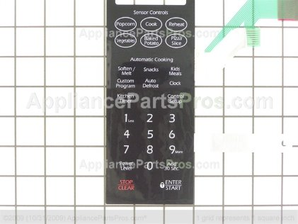 Whirlpool Switch-Membrane (blk) DE34-00230F from AppliancePartsPros.com