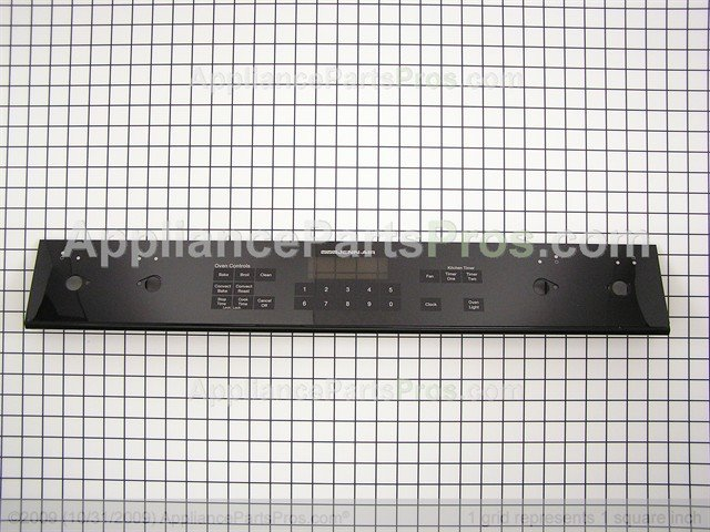 Whirlpool Wp71002310 Switch Membrane Blk