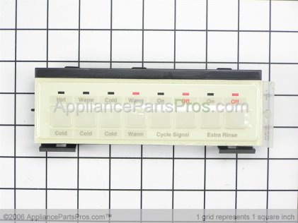 Whirlpool Switch, Touch-Pad (for Designer Almond Model) 3948148 from AppliancePartsPros.com