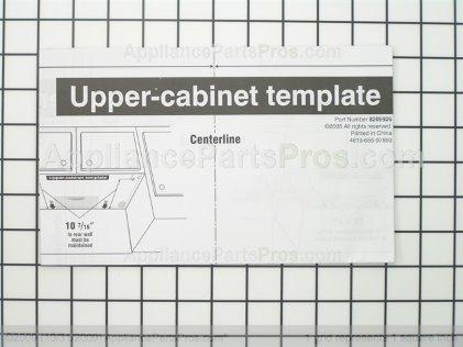 Whirlpool Template 8205926 from AppliancePartsPros.com