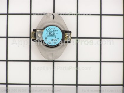 Whirlpool Thermostat L140 56410 from AppliancePartsPros.com