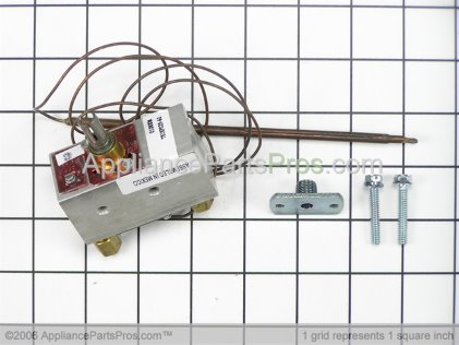 Whirlpool Thermostat W/flange & W10125661 from AppliancePartsPros.com