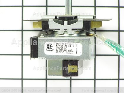Whirlpool Thermostat W10125457 from AppliancePartsPros.com