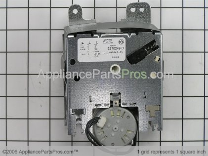 Whirlpool Timer 3370249 from AppliancePartsPros.com