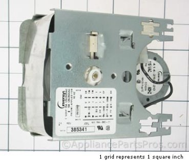 Whirlpool Timer 385341 from AppliancePartsPros.com