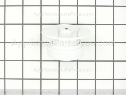 Whirlpool Timer Knob Assembly (white) 3977119 from AppliancePartsPros.com