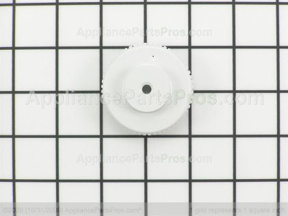 Whirlpool Timer Knob, White 21001237 from AppliancePartsPros.com