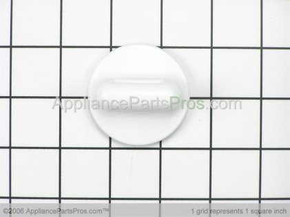 Whirlpool Timer Knob, White 35333W from AppliancePartsPros.com