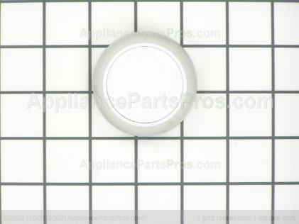 Whirlpool Timer Knob (white) 3957824 from AppliancePartsPros.com