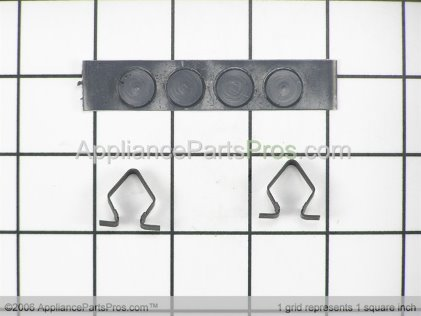 Whirlpool Toe Panel Clip Kit 279638 from AppliancePartsPros.com