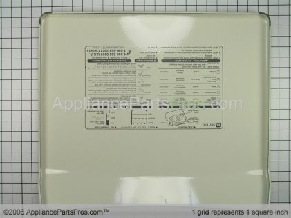 Whirlpool Top As-Pack (bsq) 22004064 from AppliancePartsPros.com