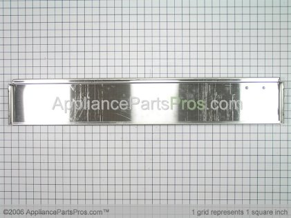 Whirlpool Top Grille Assembly (stainless Steel) 2257410S from AppliancePartsPros.com