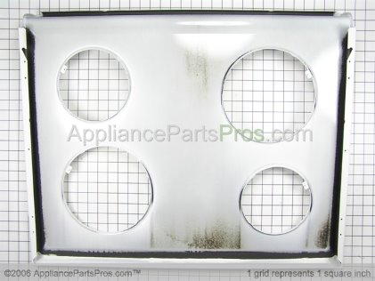 Whirlpool Top, Main (wht) 74008737 from AppliancePartsPros.com