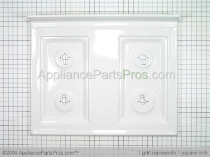 Whirlpool Top, Main (wht) 74009126 from AppliancePartsPros.com