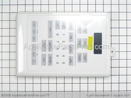 Whirlpool Touch Pad and Control Panel Assembly, White 56001263 from AppliancePartsPros.com