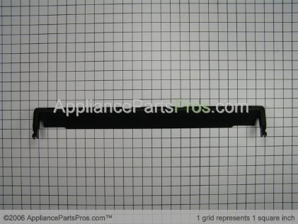 Whirlpool Trim, Bottom (black) 4448473 from AppliancePartsPros.com
