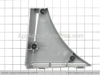 Whirlpool Trim & Clip Assembly (lh) (pewter) 3980088 from AppliancePartsPros.com