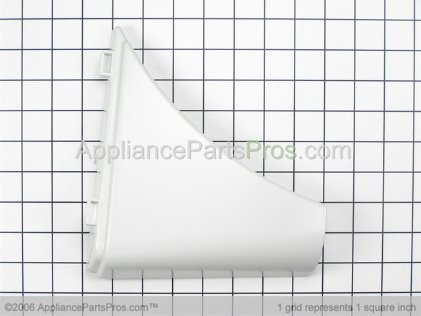 Whirlpool Trim & Clip Assembly, Left Side (grey) 8529526 from AppliancePartsPros.com