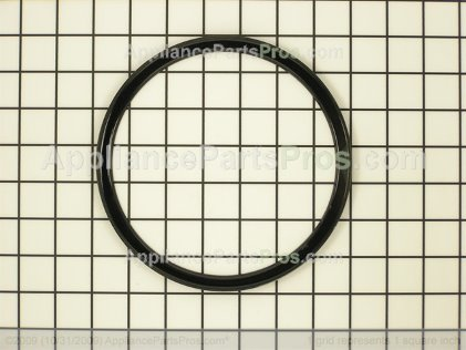 "Whirlpool Trim Ring, 6"" Blk Y04000004 from AppliancePartsPros.com"