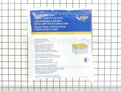 Whirlpool Universal Trash Compactor Bags W10165295BU from AppliancePartsPros.com
