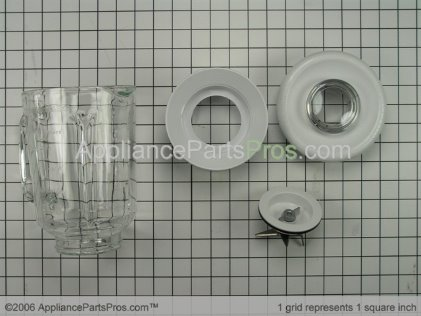 Whirlpool Upper Blender Assembly 4176524 from AppliancePartsPros.com