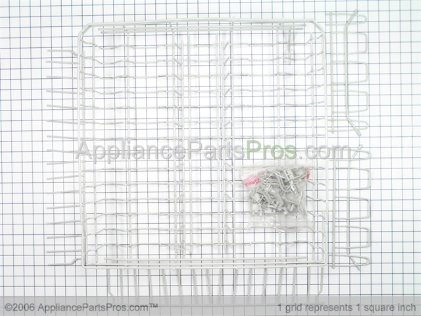 Whirlpool Upper Dishrack Assembly 8193943 from AppliancePartsPros.com