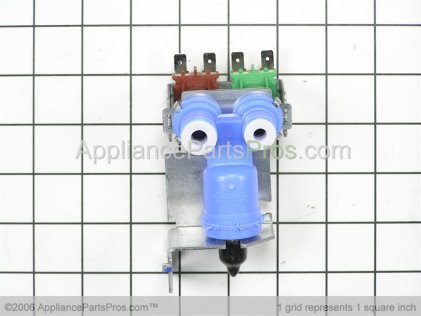 Whirlpool Water Inlet Valve Assembly 61005626 from AppliancePartsPros.com